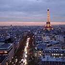 France - Paris 75007 - By night by Thierry Beauvir