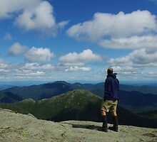 Mountain Man on Mt. Marcy by SAJONES