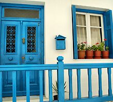 Traditional house in Mykonos by George Kypreos