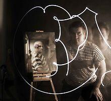 Playing with light - Brett Moffatt - Artist by TruthOrDaring