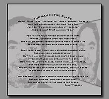 The Man In The Glass - A Collaboration by barnsis