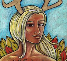 Deer Woman by Lynnette Shelley