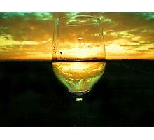 Wine Inversion Photographic Print