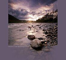 Sunshine over Moonshine Rocks by Ken Wright
