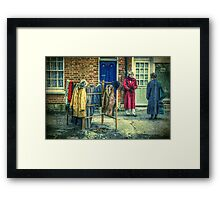There's Never Enough Hanging Space Framed Print