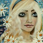 Alice and the Daisies by KimTurner
