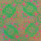 Iridium Atoms Green Pink by atomicshop