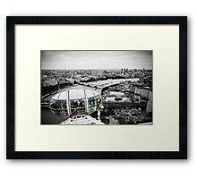 The Eye-Pod: London Eye. Southbank London. UK. Framed Print