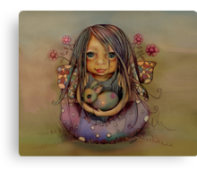 tiny and isabella  Canvas Print