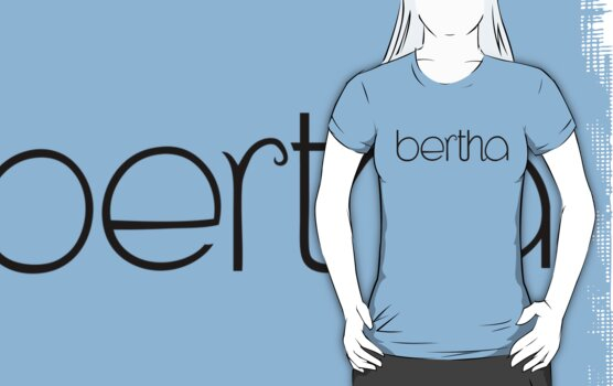 Bertha black T-shirt by Mariana Musa