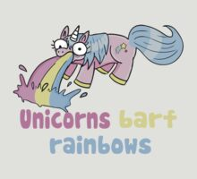 unicorns barf rainbows by blumascara