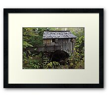 The John Cable Grist Mill Framed Print