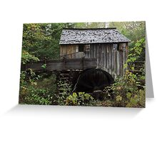 The John Cable Grist Mill Greeting Card