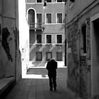 Lonely old man in Italy by pljvv
