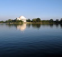 Jefferson Memorial by bkphoto
