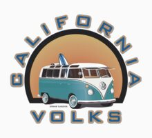 Cal Volks Split Bus by Frank Schuster