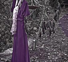 Dress of a Wilted Sunflower by Jason Lee Jodoin