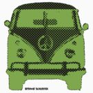 Splitty VW Bus Front Screen by Frank Schuster