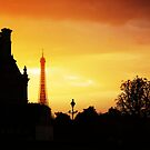 Dusk in Paris by Stephanie Stengel | stelonature photography