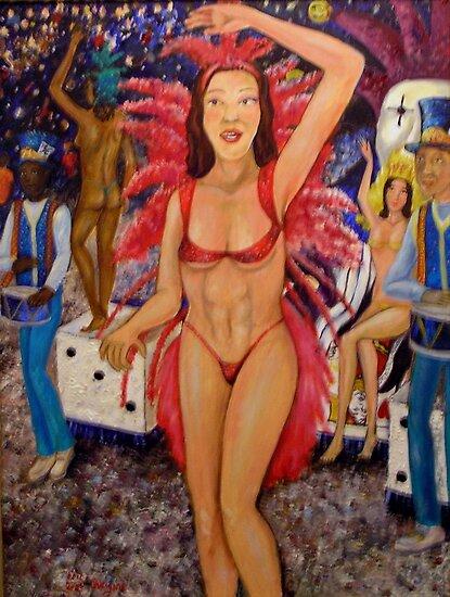 Mardi Gras by DarkRubyMoon