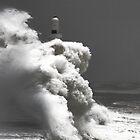 Breakwater, Aberdeen Harbour by Mark Mair
