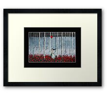 Lost without you Framed Print