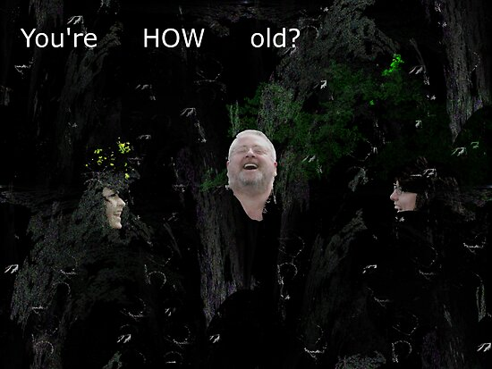 You're HOW old? by Anthony R. Plastino III