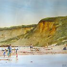 Angelsea beach mid summer by Mick Kupresanin