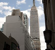 Empire State Building NY by Phil Parkin