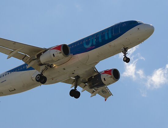 BMI Airbus A320 by Mark Kopczewski