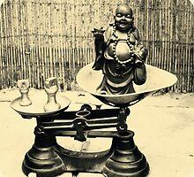 Weighing up buddha by pema