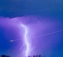 Bo Trek - Lightning Strike - City Lights - 2 by Bo Insogna
