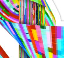 Ribbons of Digital DNA Sticker