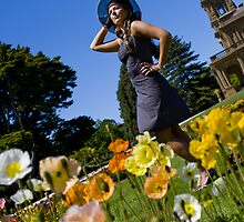 Smelling the Poppies #3 by Mark Elshout