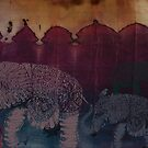Lost City of Elephants Dusk by Karin  Taylor