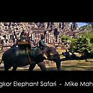 Angkor Elephant Safari by Mike Mahalo