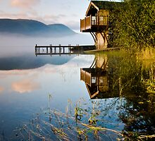 Pooley Bridge Boathouse by AJ Airey