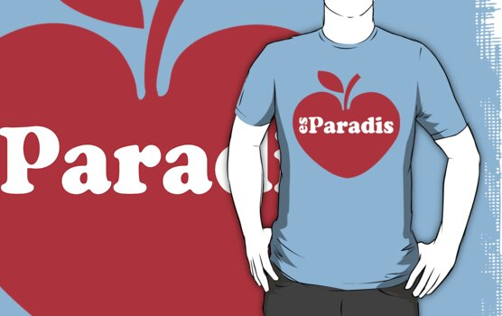 A Casual Classic iconic Es Paradis inspired t-shirt design by Casual Classics