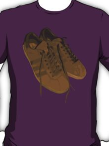 A Casual Classic iconic Adidas Tobacco inspired t-shirt design T-Shirt