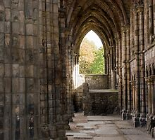 Ruins at Holyrood Abbey by Jennifer Nestler