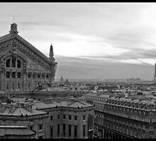 l'Opéra Garnier et Eiffel by Patrick T. Power