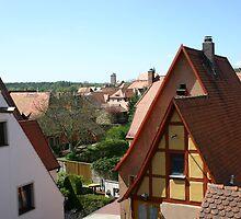 Rothenburg Skyline by Benjamin Sloma