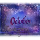 October (from a year full of color) by pentangled