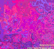 ( WAGON GOD )  ERIC WHITEMAN ART  by eric  whiteman