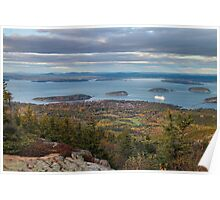 'Bar Harbor, From Cadillac Mountain' Poster