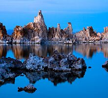 Mono Lake Formations by Ed Lark