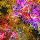 ABSTRACT FLORAL by Clarissa Stuart