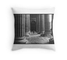 à Saint-Sulpice (Art Card) Throw Pillow