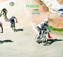 BMX Wall - first berm - finals by Paul Lindenberg