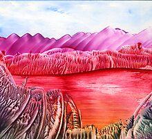 Jurassic Landscape by Anne Pearson